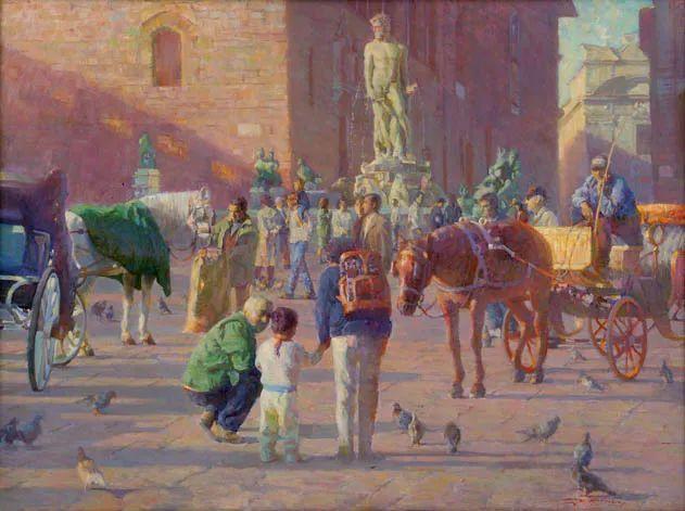 他的绘画以一种全新的、极其个人化的方式展现了光和形式!插图67
