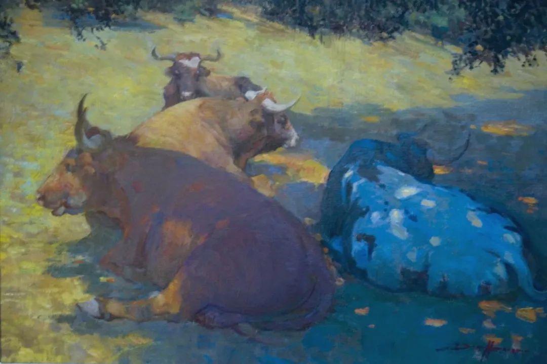 他的绘画以一种全新的、极其个人化的方式展现了光和形式!插图73