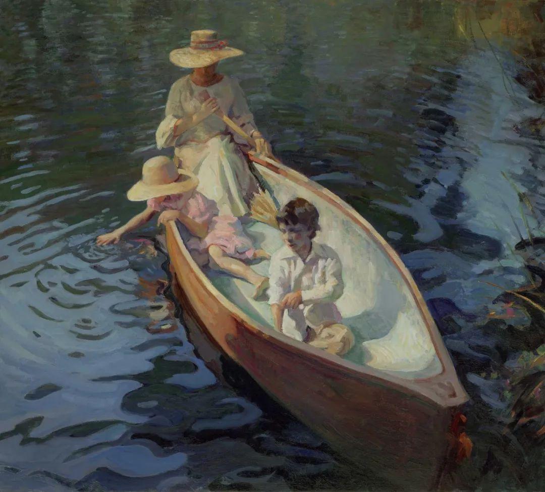 他的绘画以一种全新的、极其个人化的方式展现了光和形式!插图87