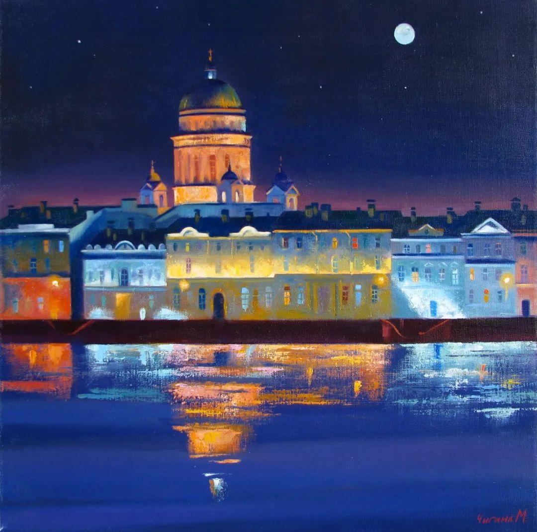 俄罗斯女画家玛格丽塔·奇吉娜,列宾美院优秀毕业生!插图1
