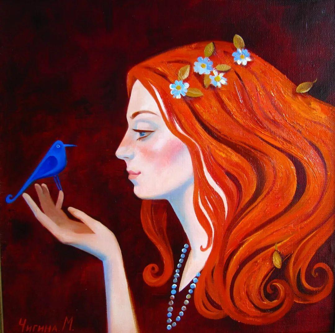 俄罗斯女画家玛格丽塔·奇吉娜,列宾美院优秀毕业生!插图5