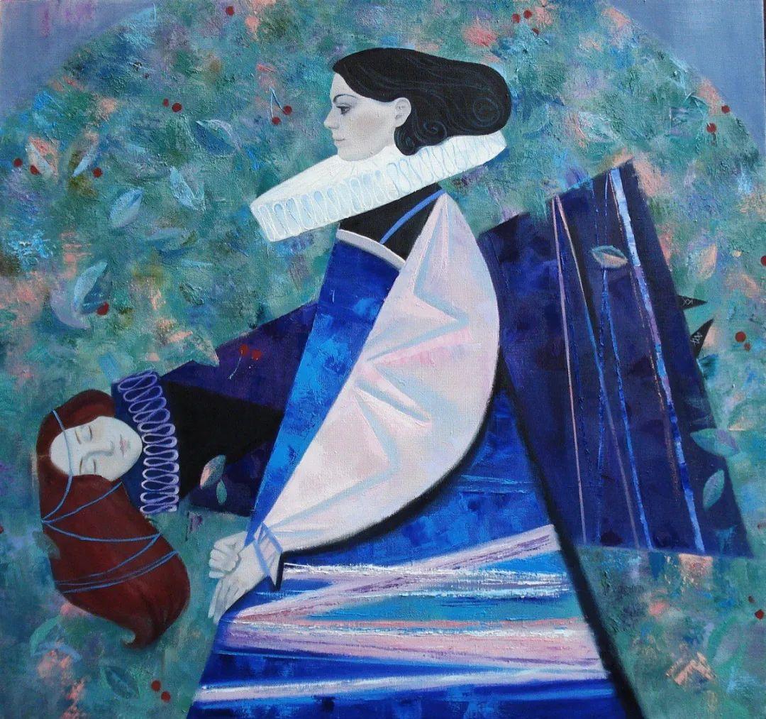 俄罗斯女画家玛格丽塔·奇吉娜,列宾美院优秀毕业生!插图7