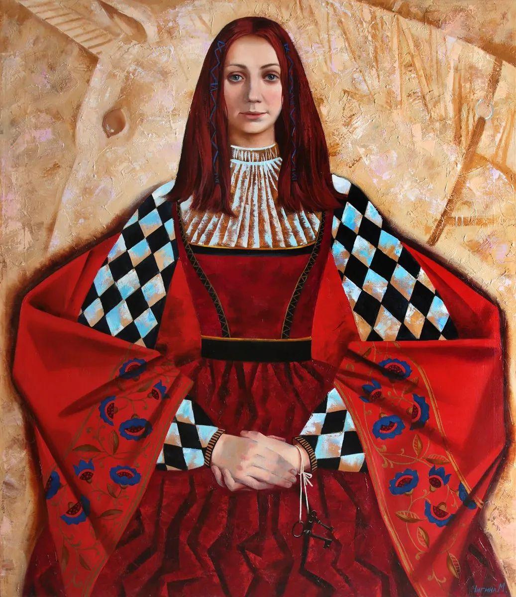 俄罗斯女画家玛格丽塔·奇吉娜,列宾美院优秀毕业生!插图9