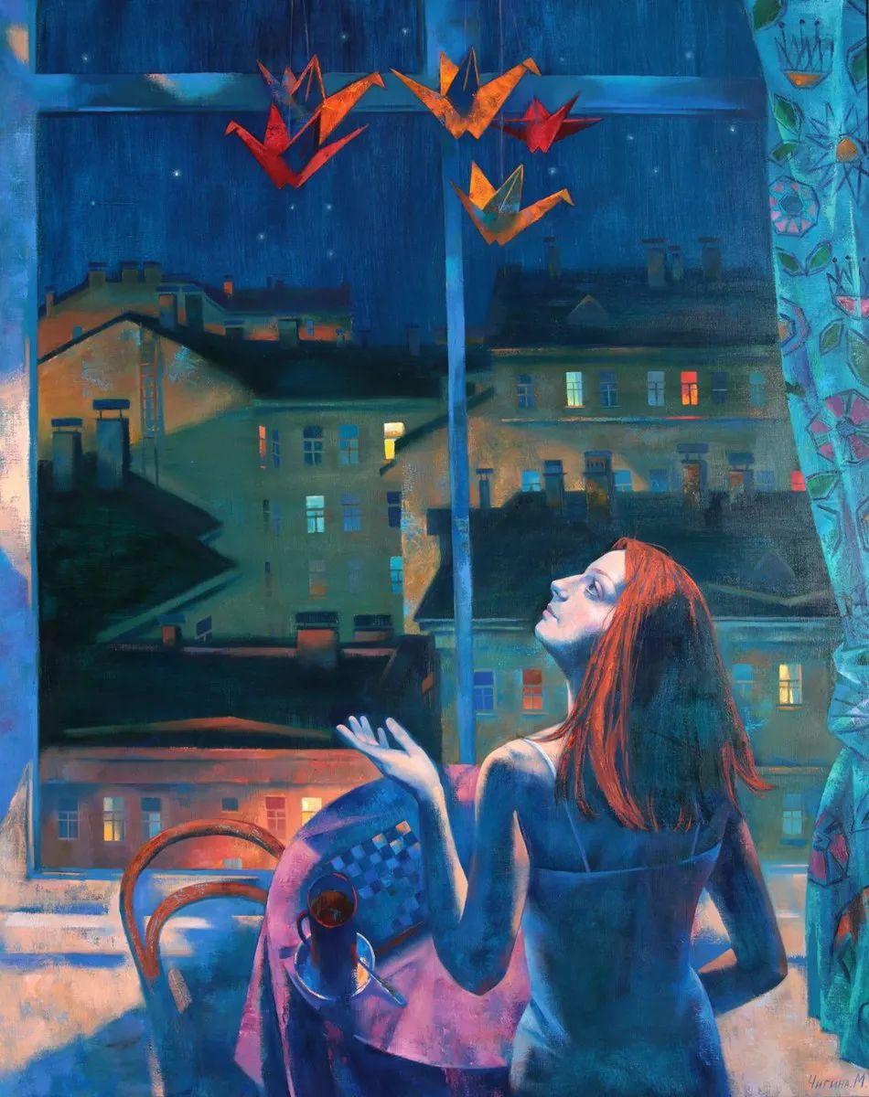 俄罗斯女画家玛格丽塔·奇吉娜,列宾美院优秀毕业生!插图11
