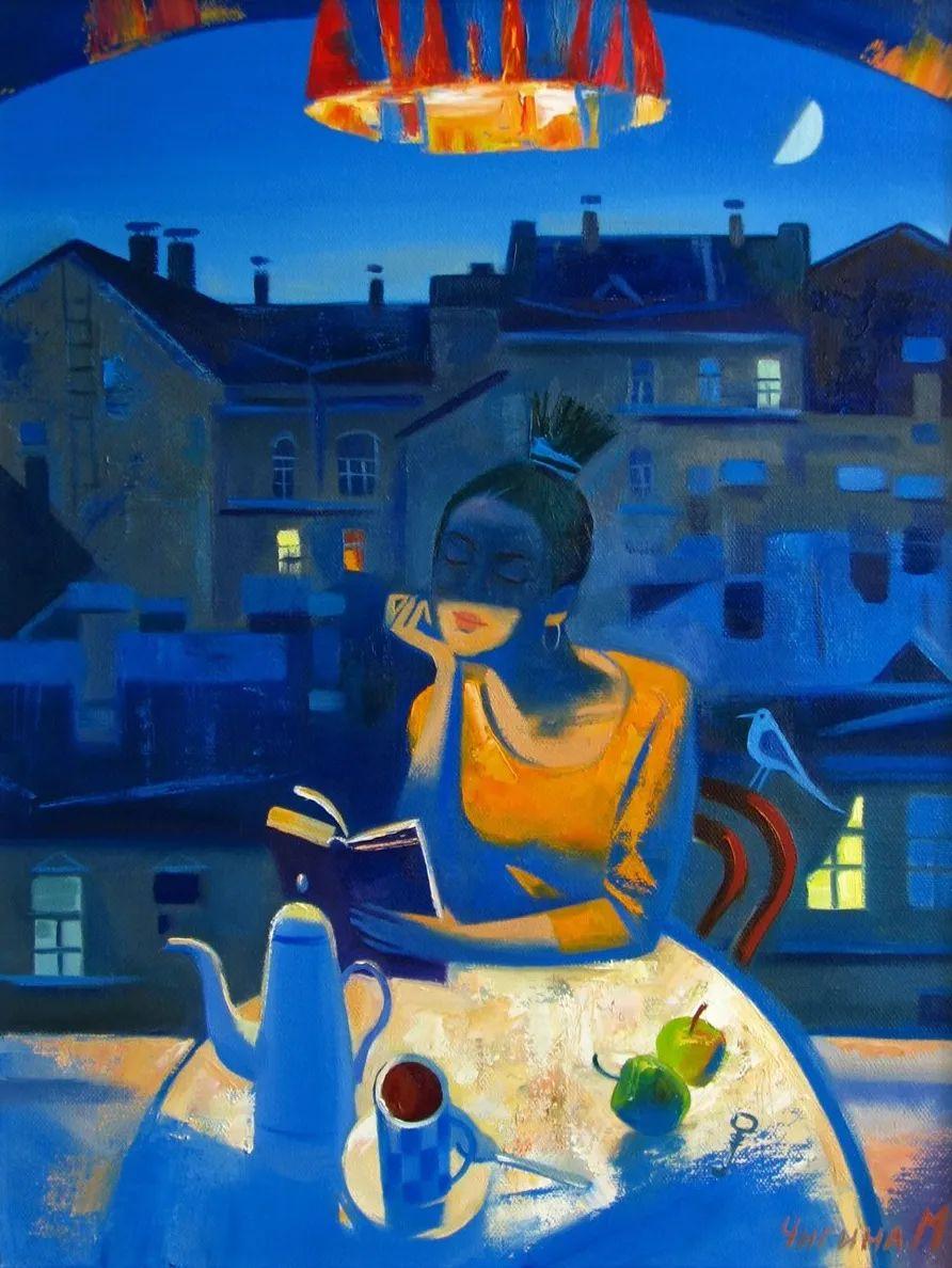 俄罗斯女画家玛格丽塔·奇吉娜,列宾美院优秀毕业生!插图13