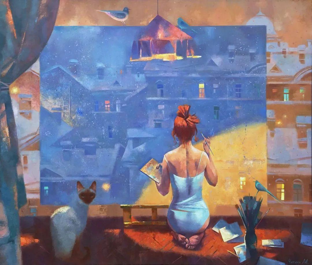 俄罗斯女画家玛格丽塔·奇吉娜,列宾美院优秀毕业生!插图15