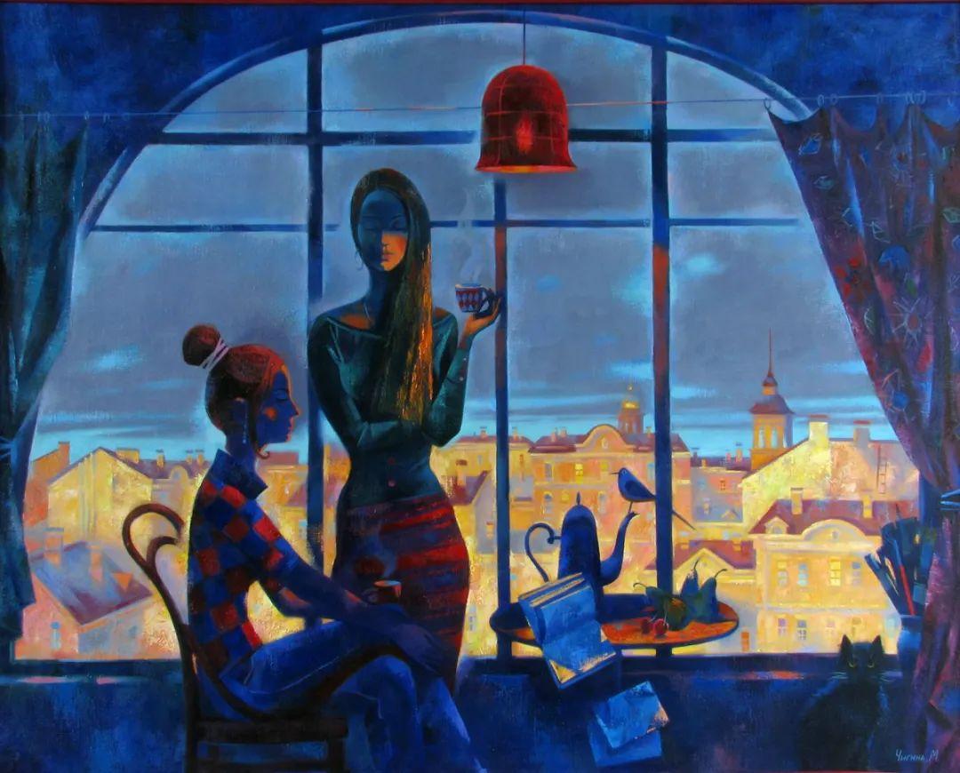 俄罗斯女画家玛格丽塔·奇吉娜,列宾美院优秀毕业生!插图19