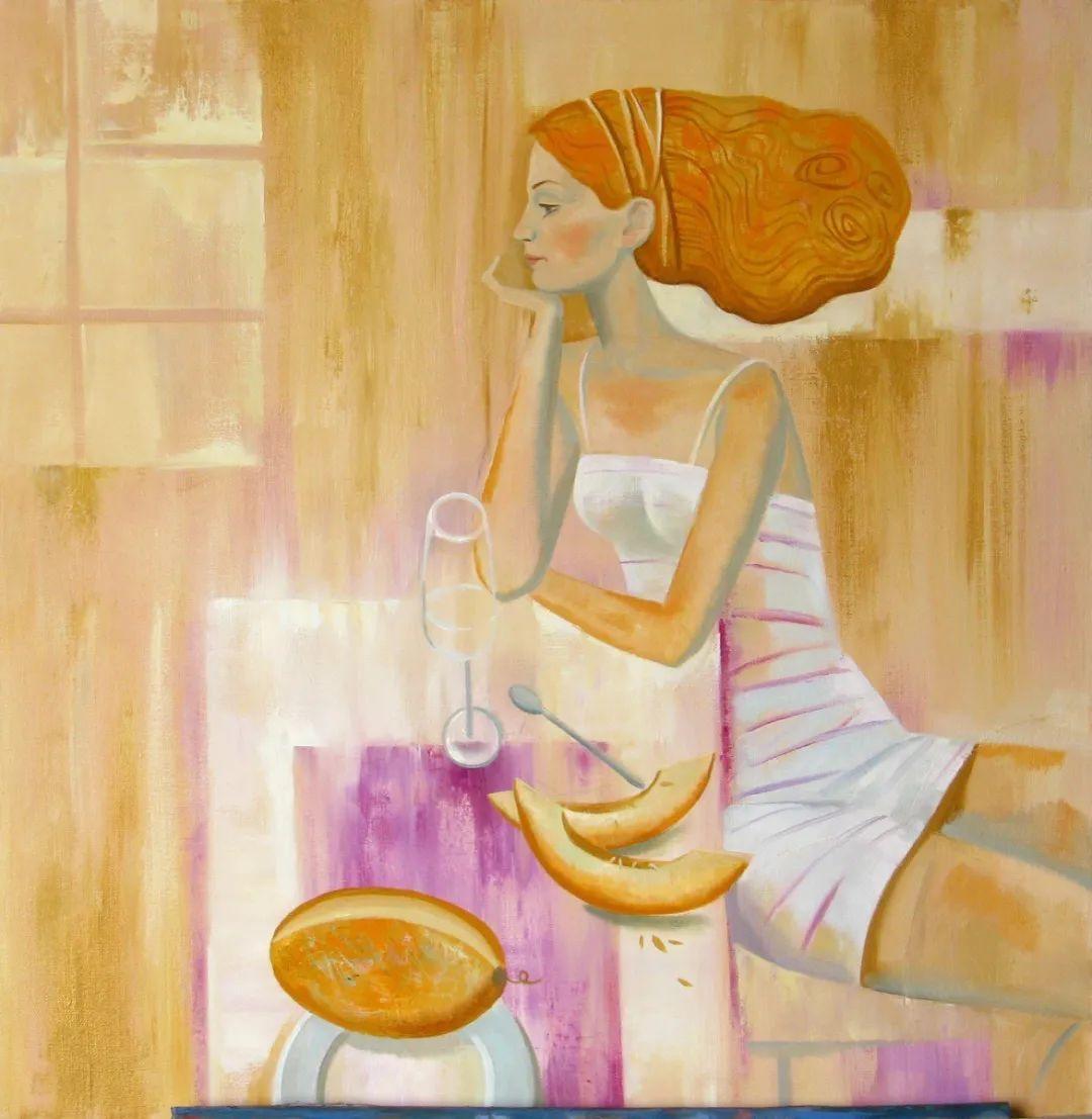俄罗斯女画家玛格丽塔·奇吉娜,列宾美院优秀毕业生!插图23