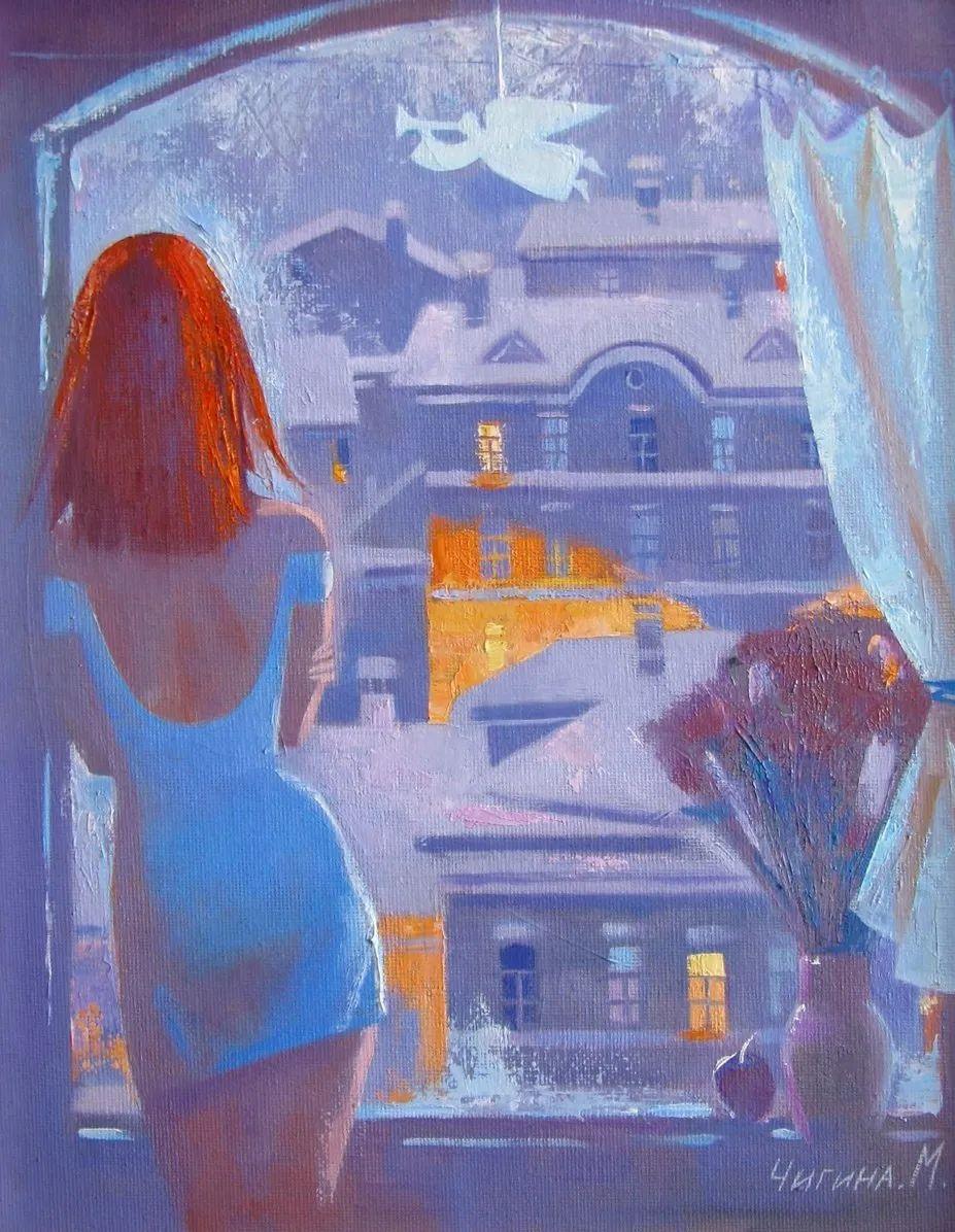 俄罗斯女画家玛格丽塔·奇吉娜,列宾美院优秀毕业生!插图29