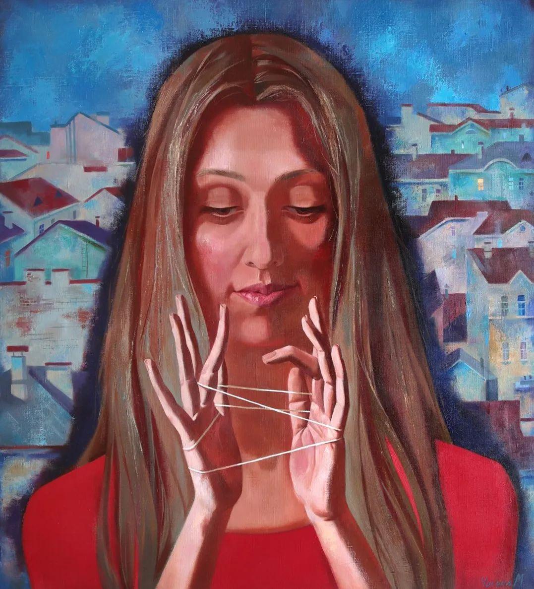 俄罗斯女画家玛格丽塔·奇吉娜,列宾美院优秀毕业生!插图33