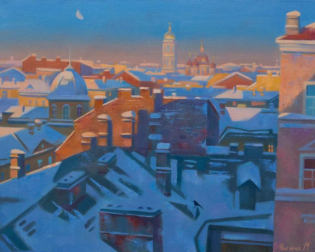俄罗斯女画家玛格丽塔·奇吉娜,列宾美院优秀毕业生!插图41