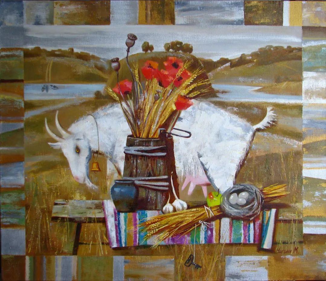 俄罗斯女画家玛格丽塔·奇吉娜,列宾美院优秀毕业生!插图43