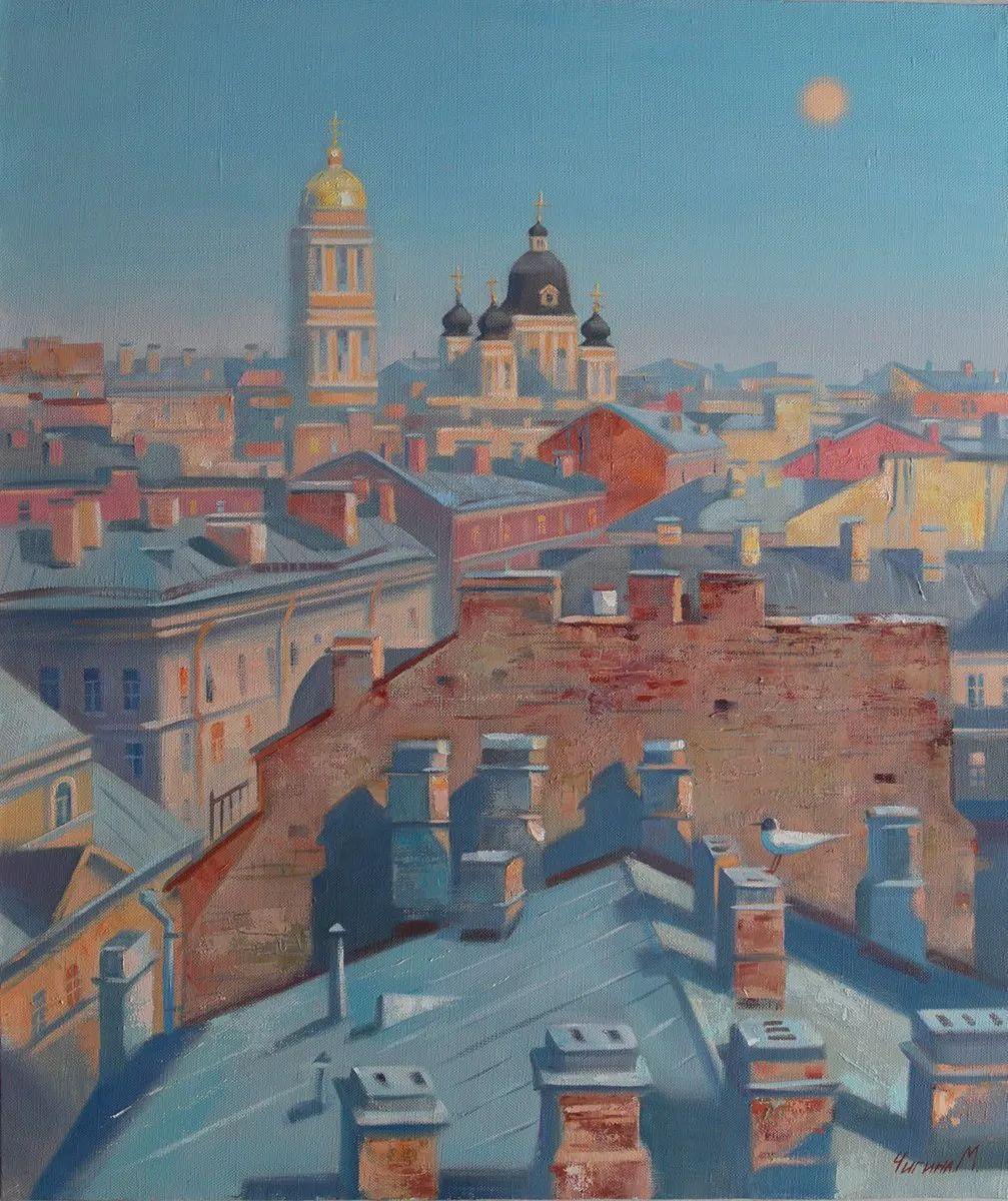 俄罗斯女画家玛格丽塔·奇吉娜,列宾美院优秀毕业生!插图45