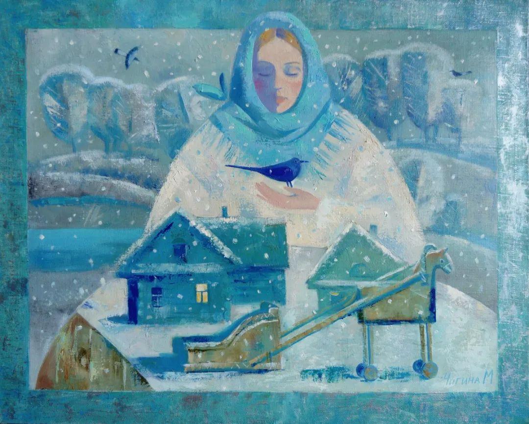 俄罗斯女画家玛格丽塔·奇吉娜,列宾美院优秀毕业生!插图47