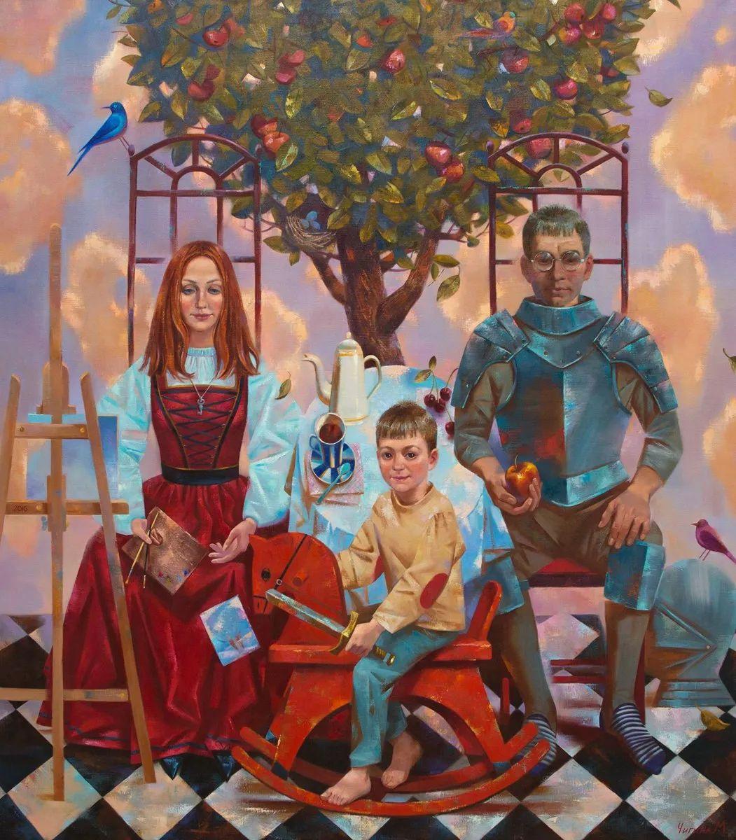 俄罗斯女画家玛格丽塔·奇吉娜,列宾美院优秀毕业生!插图49