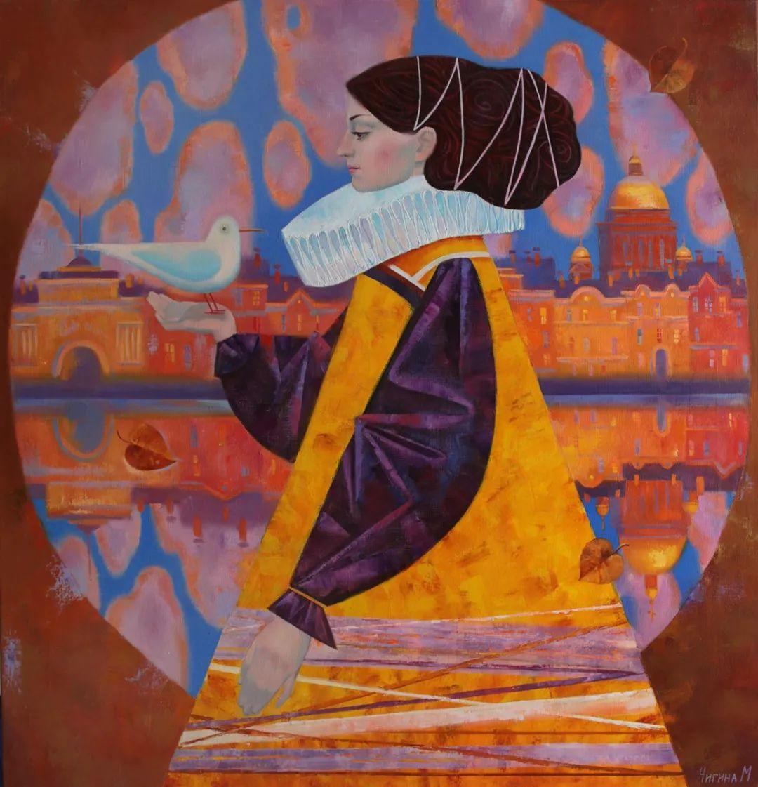俄罗斯女画家玛格丽塔·奇吉娜,列宾美院优秀毕业生!插图55