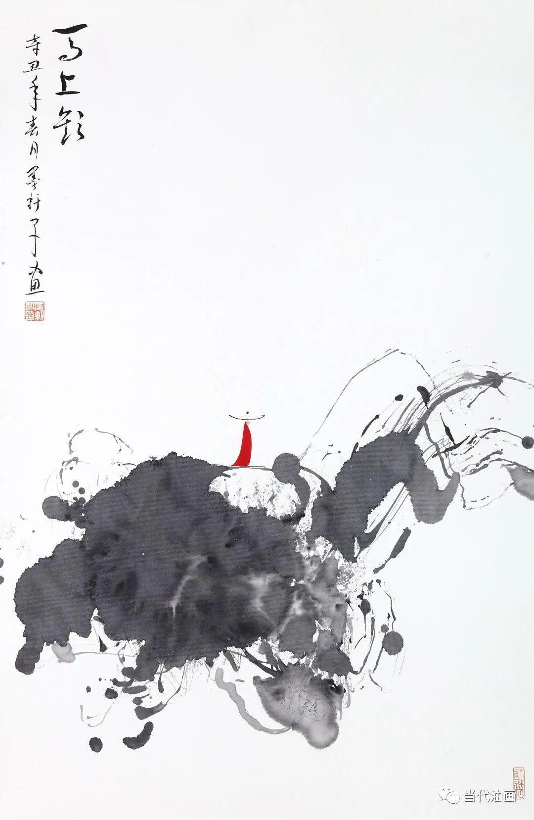 """""""源流:当代绘画展""""   严家祥插图3"""