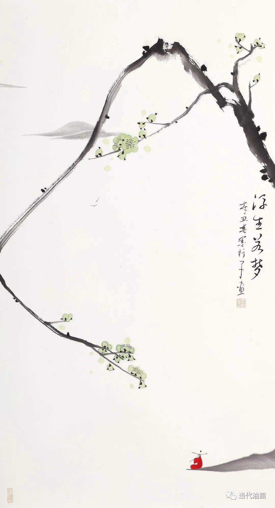 """""""源流:当代绘画展""""   严家祥插图5"""