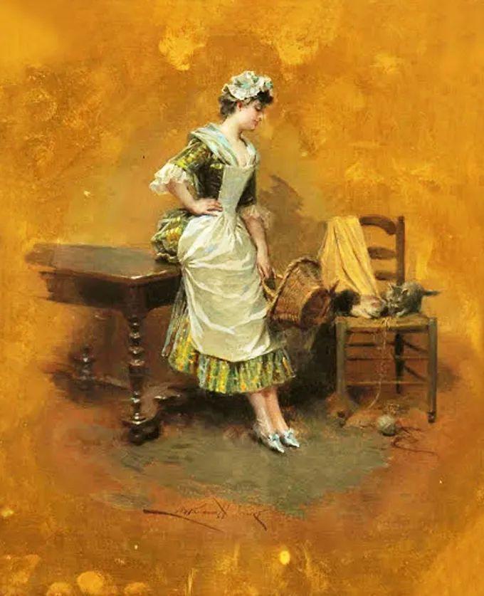 他以绘画为借口,来展现女性的美丽!插图13