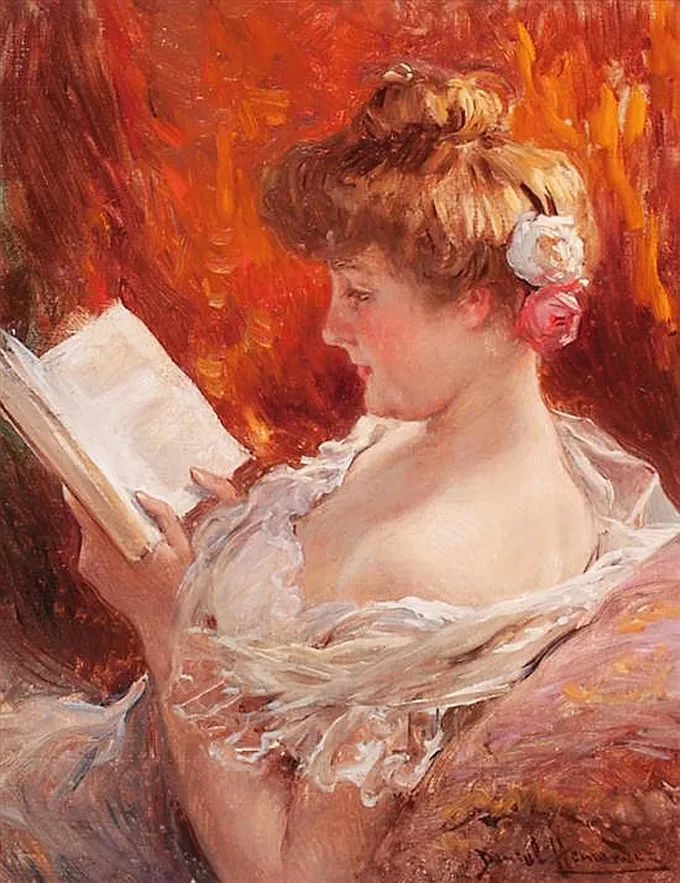他以绘画为借口,来展现女性的美丽!插图31