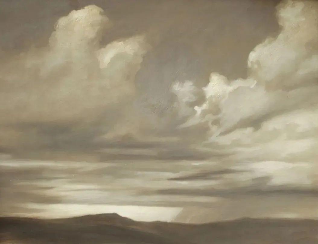 丹尼尔·格雷夫斯画笔下的云,仿佛随着时间在动插图11