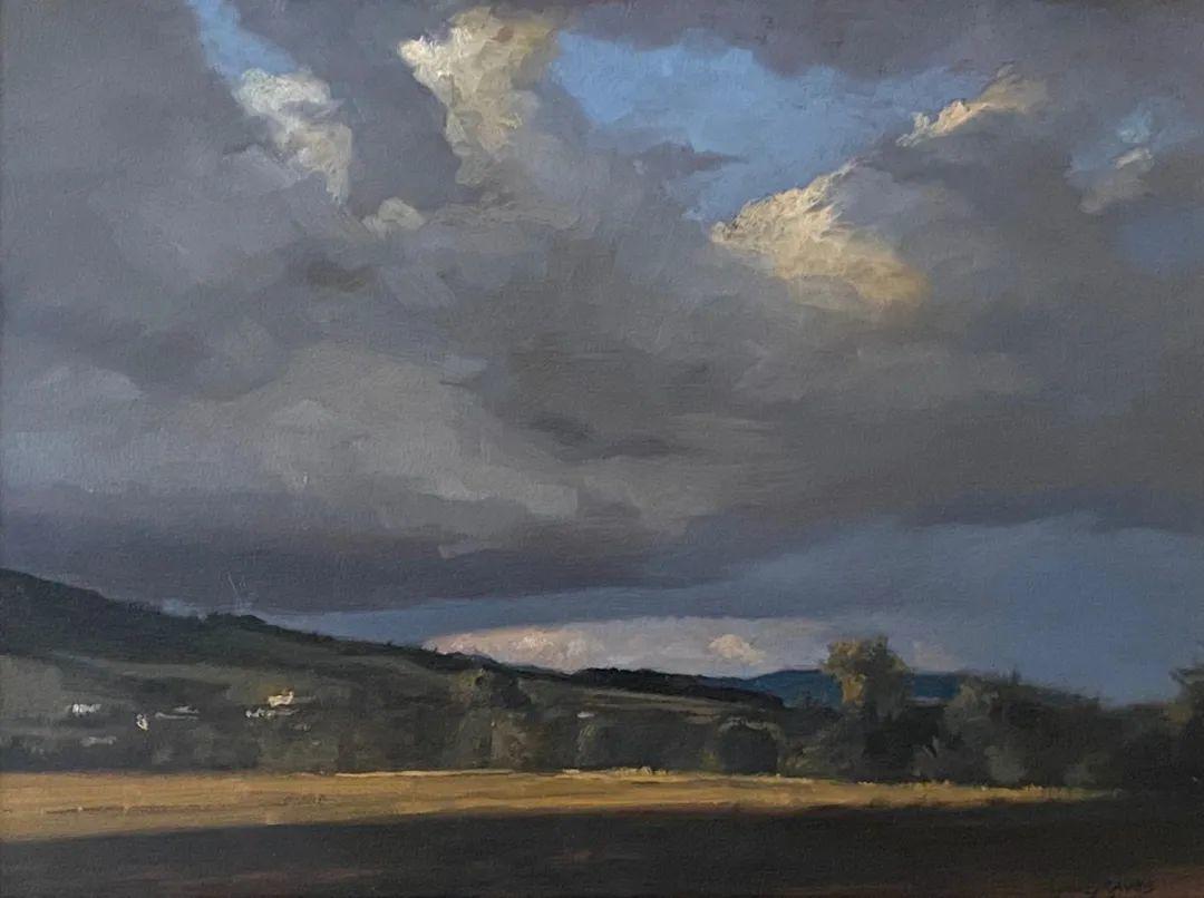 丹尼尔·格雷夫斯画笔下的云,仿佛随着时间在动插图23