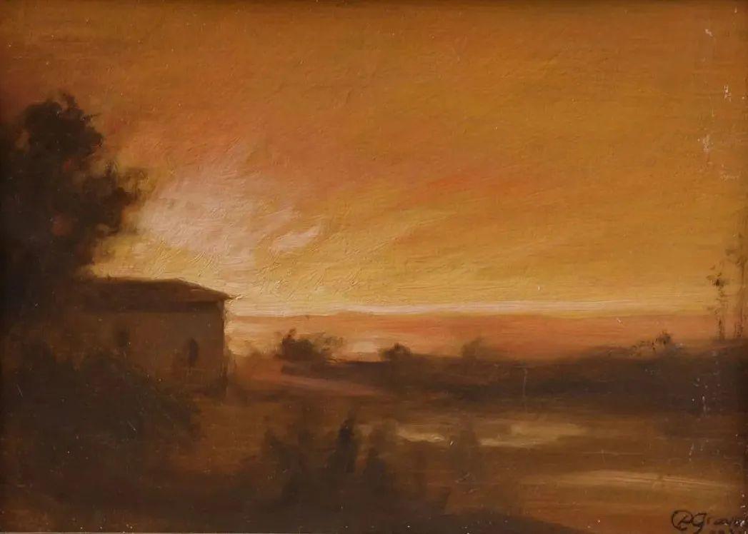 丹尼尔·格雷夫斯画笔下的云,仿佛随着时间在动插图51