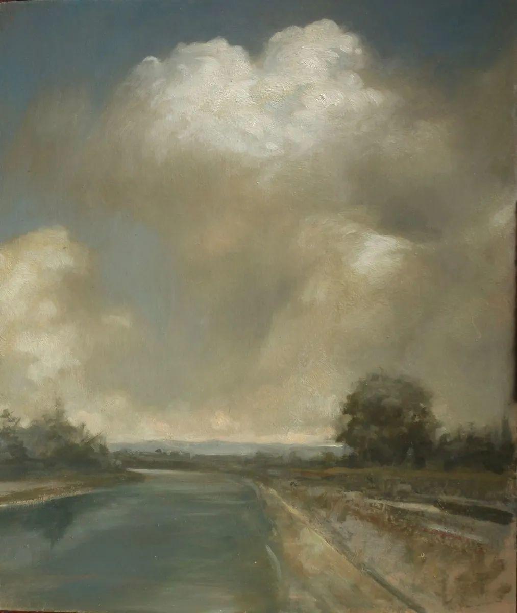 丹尼尔·格雷夫斯画笔下的云,仿佛随着时间在动插图63