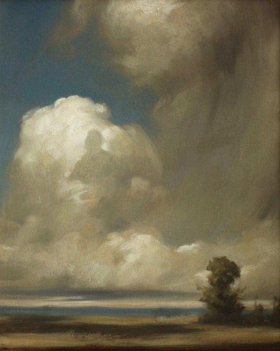 丹尼尔·格雷夫斯画笔下的云,仿佛随着时间在动插图71