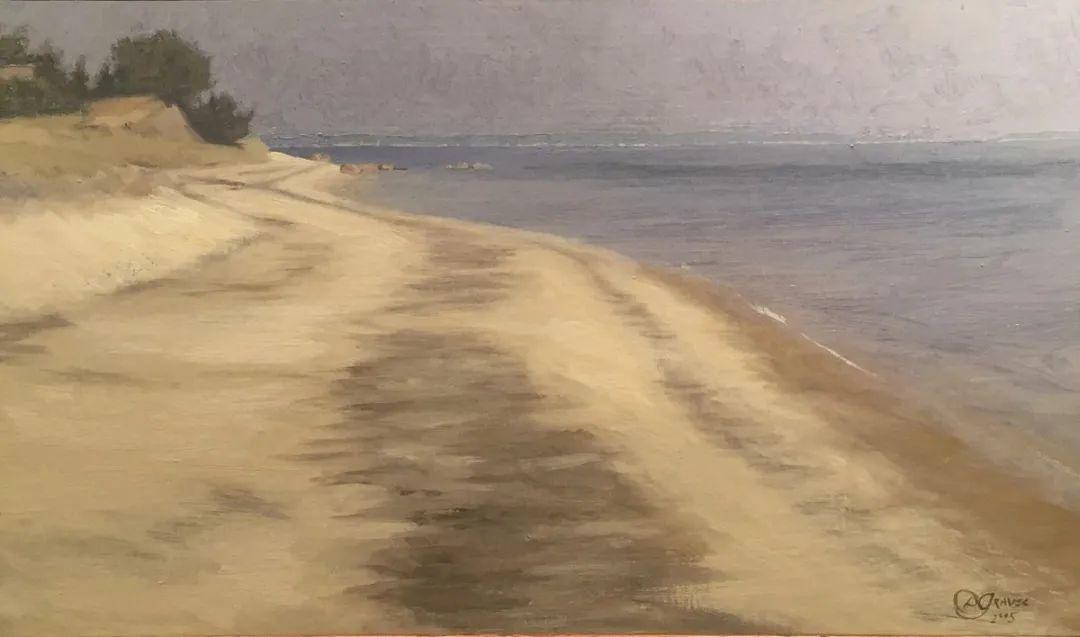 丹尼尔·格雷夫斯画笔下的云,仿佛随着时间在动插图77