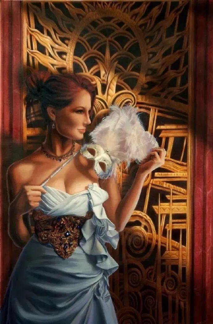 生动而优雅,美国艺术家Chris.Dellorco的人物油画作品赏析插图15