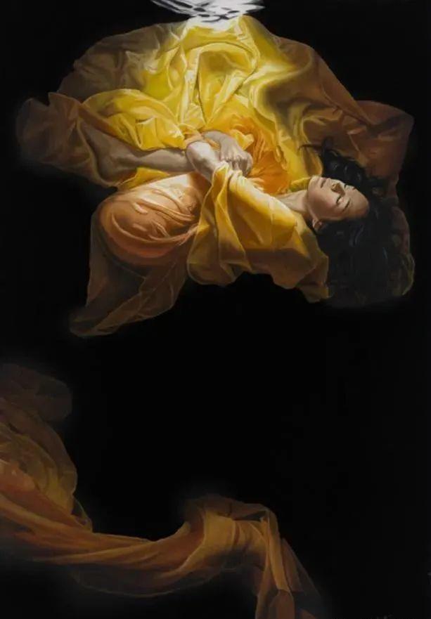 生动而优雅,美国艺术家Chris.Dellorco的人物油画作品赏析插图19