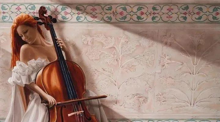 生动而优雅,美国艺术家Chris.Dellorco的人物油画作品赏析插图31