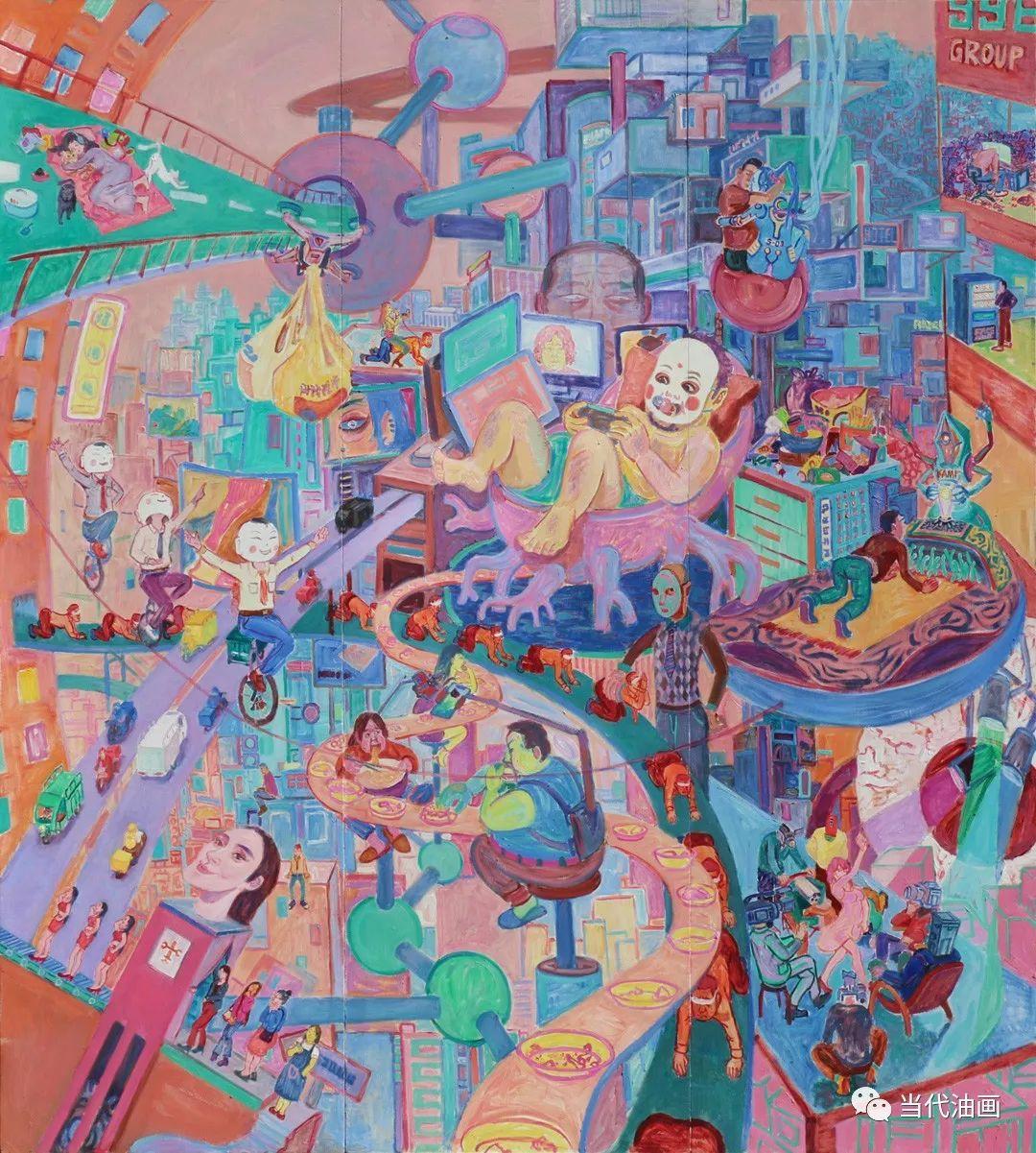 中国当代油画家作品欣赏之   董海洋插图3