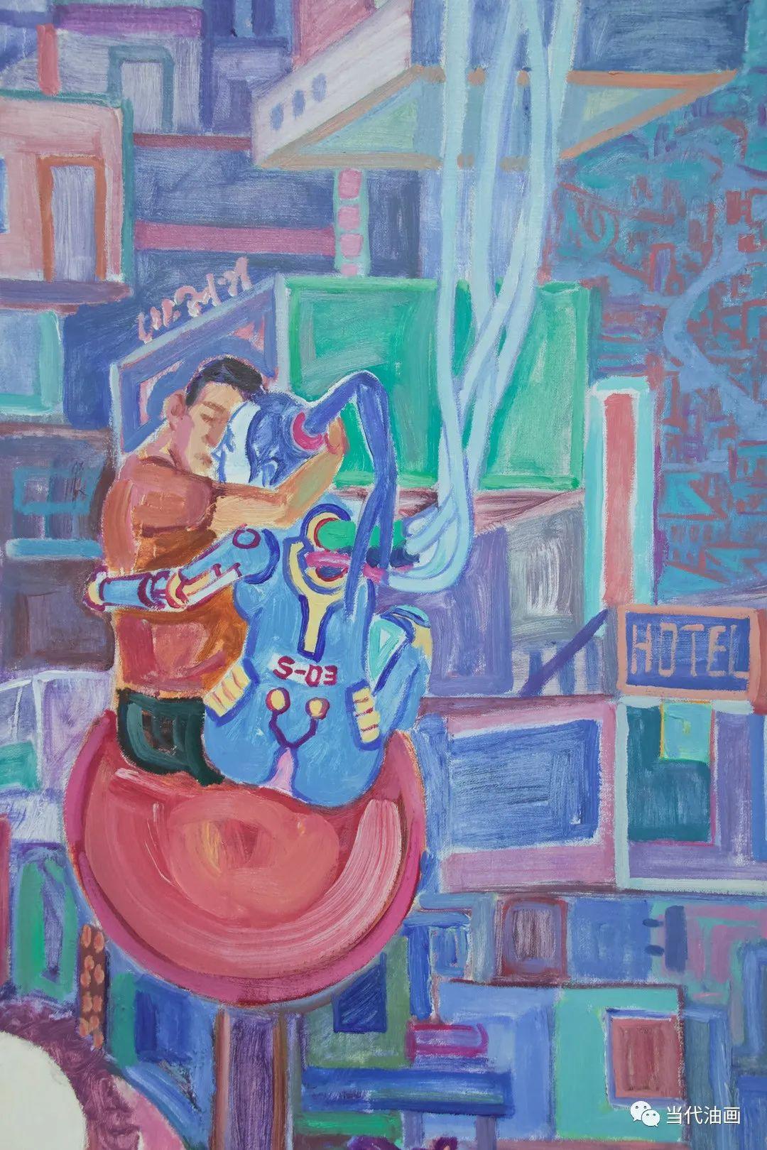 中国当代油画家作品欣赏之   董海洋插图15