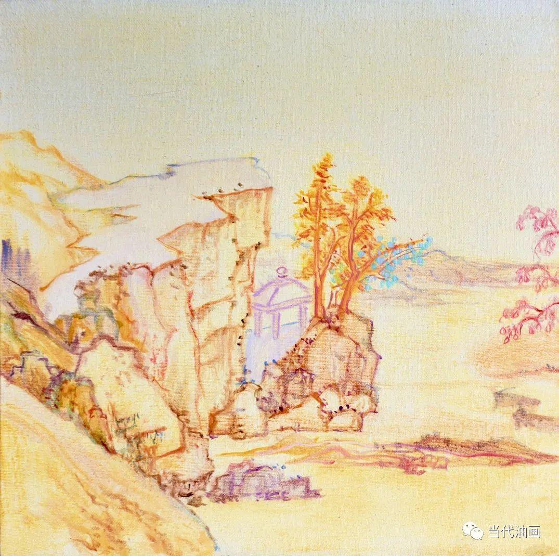 中国当代油画家作品欣赏之   董海洋插图33