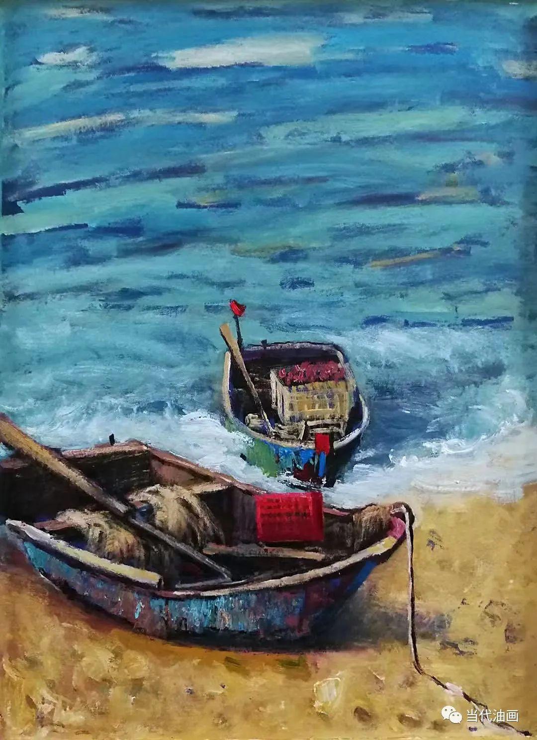 中国当代油画家作品欣赏之 | 林俊生插图19