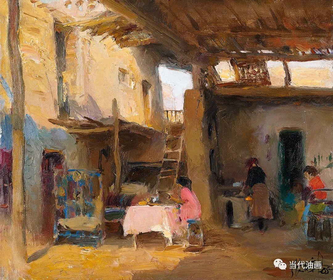 中国当代油画家作品欣赏之 | 张文新插图3