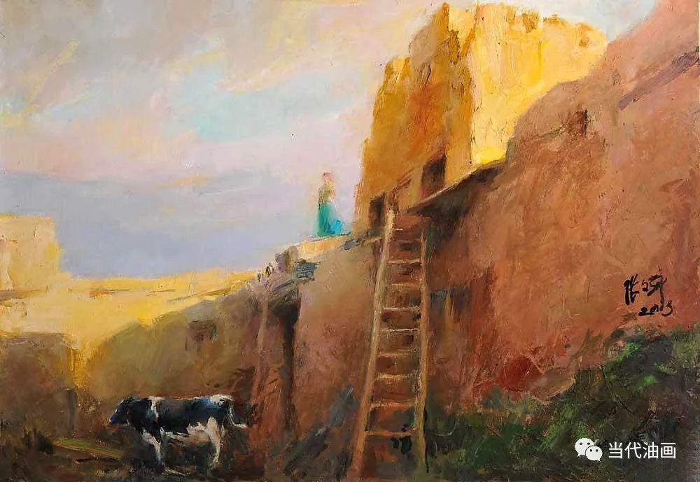 中国当代油画家作品欣赏之 | 张文新插图7