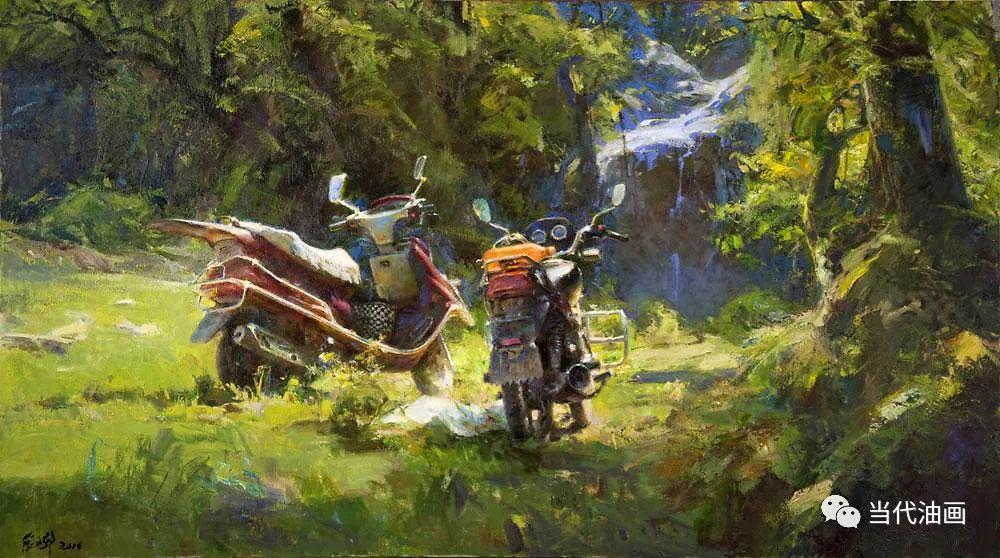 中国当代油画家作品欣赏之 | 张文新插图11