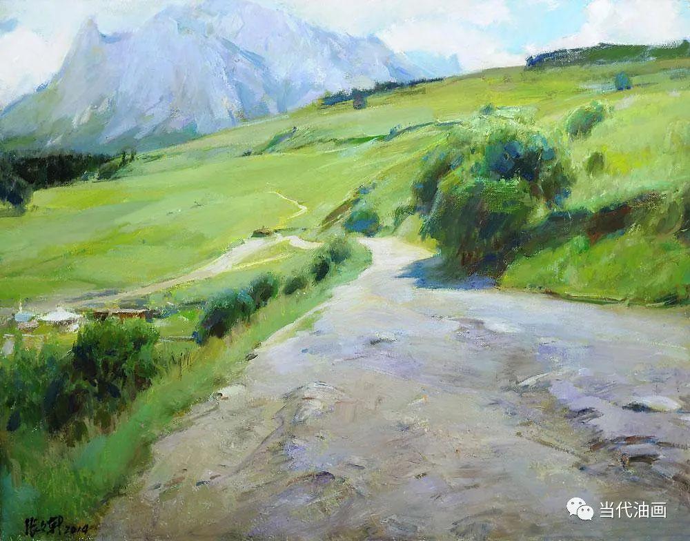 中国当代油画家作品欣赏之 | 张文新插图15