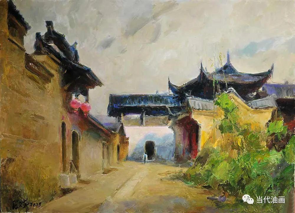 中国当代油画家作品欣赏之 | 张文新插图19