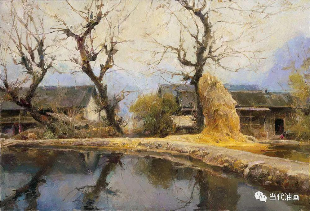 中国当代油画家作品欣赏之 | 张文新插图21