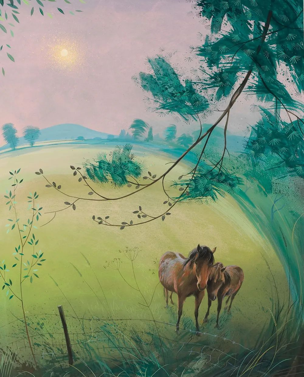 清新的诗意——尼古拉斯·哈钦森作品插图9