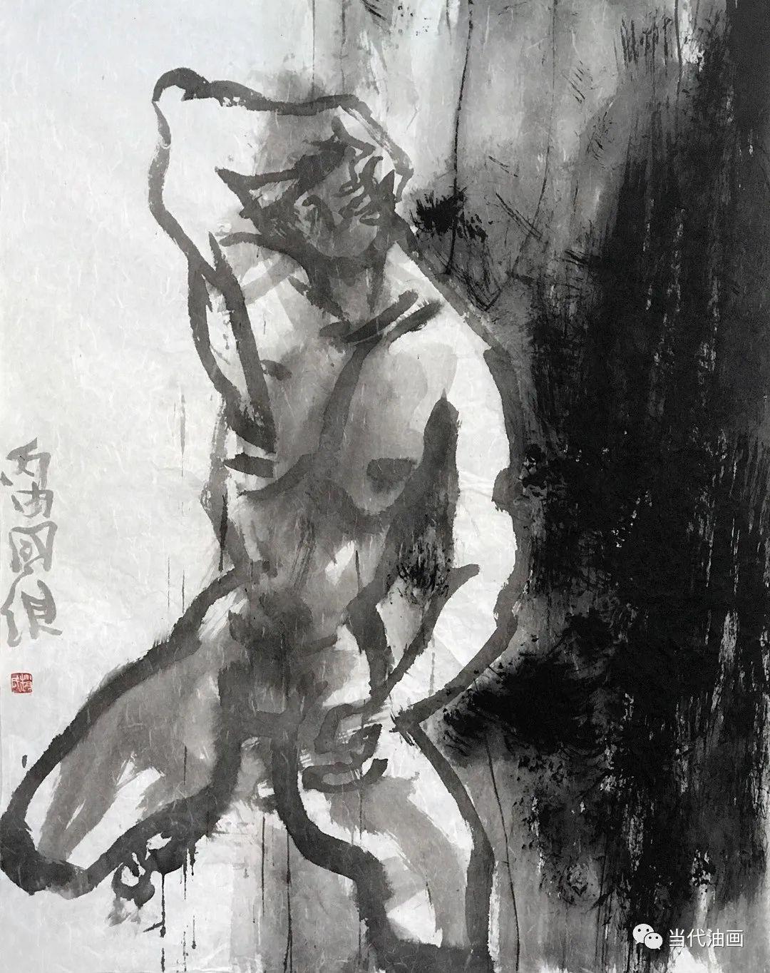 """""""源流:当代绘画展""""   赵国维插图3"""
