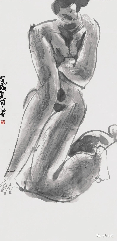 """""""源流:当代绘画展""""   赵国维插图17"""