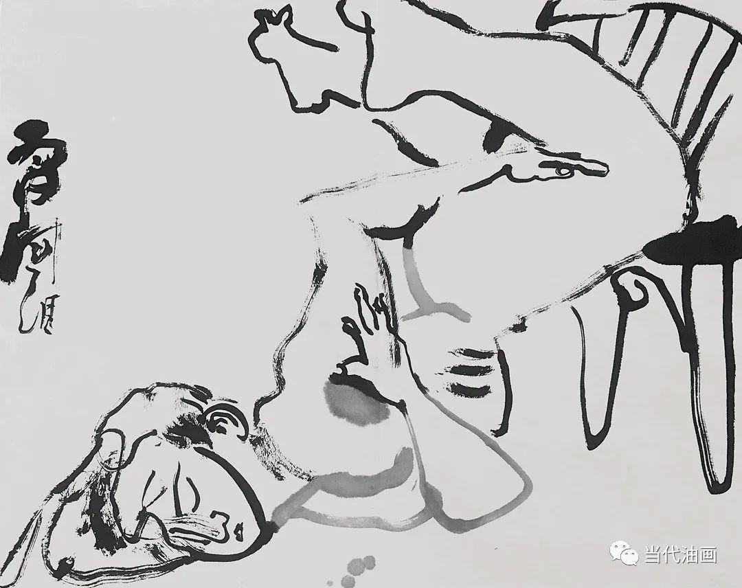 """""""源流:当代绘画展""""   赵国维插图19"""