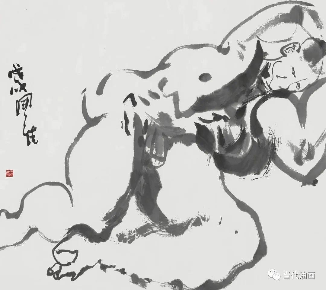"""""""源流:当代绘画展""""   赵国维插图21"""