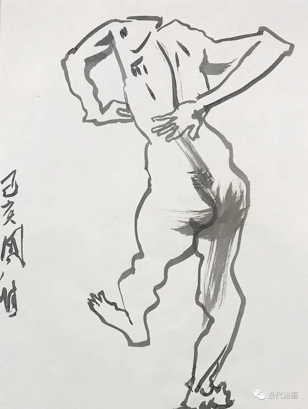 """""""源流:当代绘画展""""   赵国维插图23"""