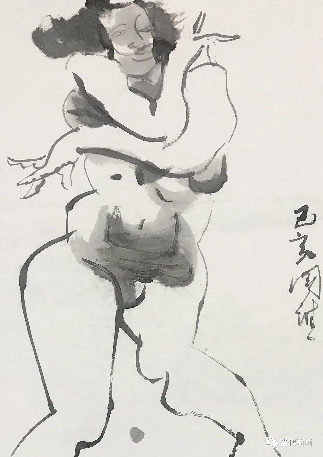 """""""源流:当代绘画展""""   赵国维插图25"""